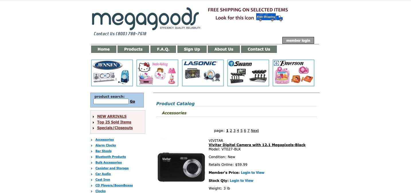 megagoods dropshipping plaforms for beginners