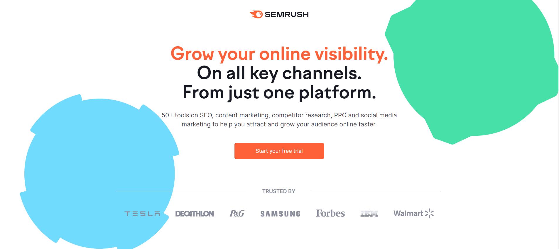 semrush keyword planner