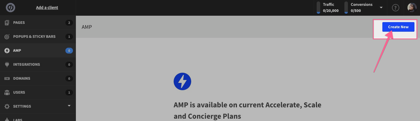 amp unbounce demo and tutorials