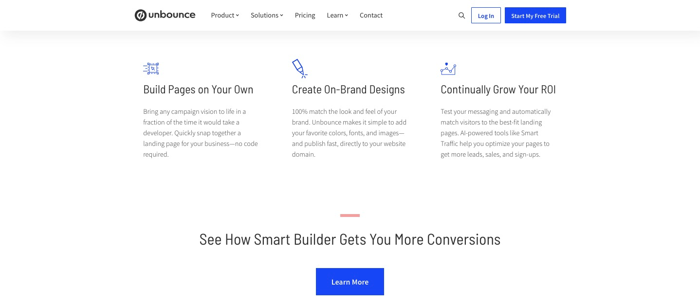 pros unbounce demo and tutorials