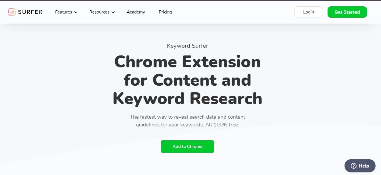 Free keyword idea tool